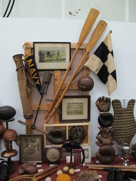 Great Sports theme displays | Antiques & Vintage | Remodelista