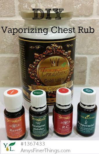 Young Living Essential Oils: Vaporizing Chest Rub