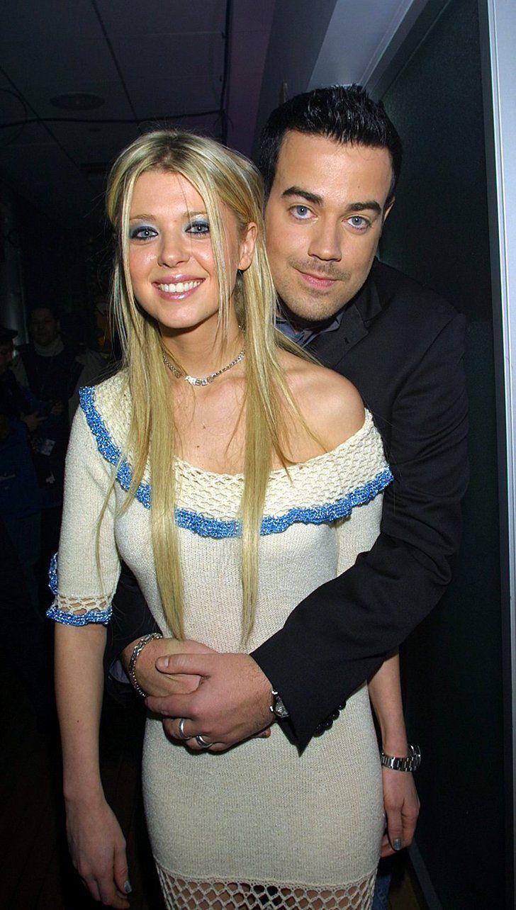 Pin for Later: Diese Stars waren mal ein Pärchen?! Tara Reid und Carson Daly Carson und Tara lösten ihre Verlobung 2001 auf.