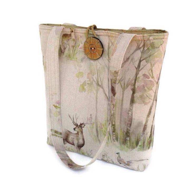 Beige tote handbag, Cotton shoulder bag, Animal print tote, Quilted purse, Every day handbag, Vegan handbag, Cotton tote bag, Brown purse by BelleEpoqueCreations on Etsy https://www.etsy.com/listing/540777955/beige-tote-handbag-cotton-shoulder-bag