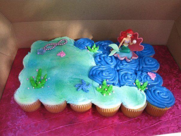 Courtney's 2nd Birthday Cake- Little Mermaid