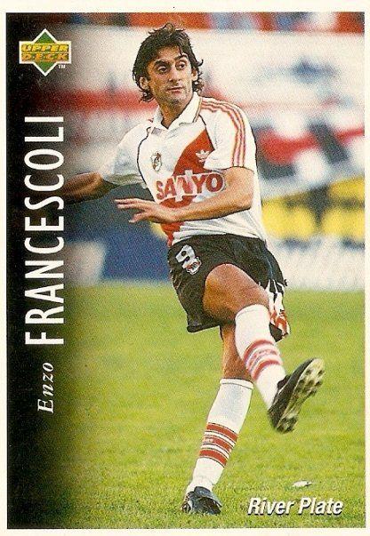Enzo Francescoli - O melhor jogador com a camisa do River que eu vi Jogar