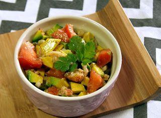 Denny Chef Blog: Insalata di guacamole e astice