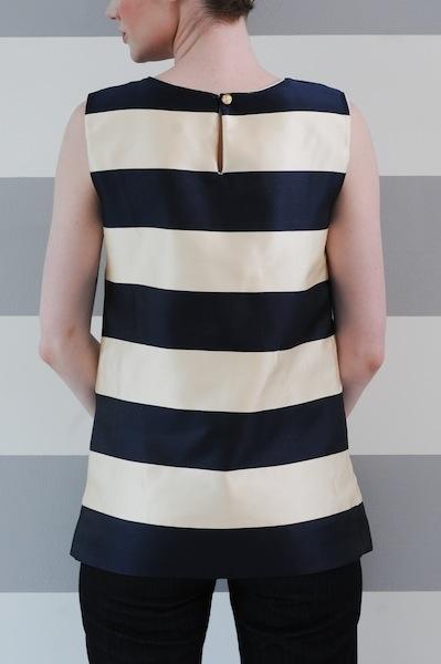 I am a big fan of rugby stripes (anne m cramer jail-break top)