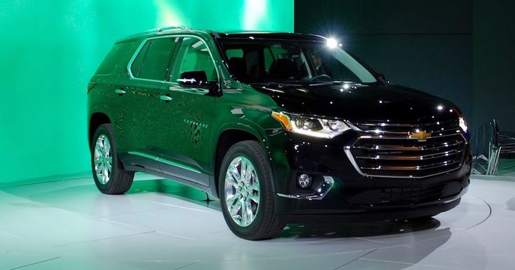 2018 Chevy Traverse Is Sized Right To Hit The Three-Row SUV Bullseye #Chevrolet #Chevrolet_Traverse