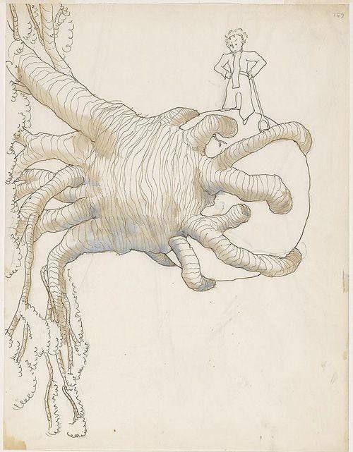 Antoine de Saint-Exupéry's Original Watercolors for <em>The Little Prince</em>