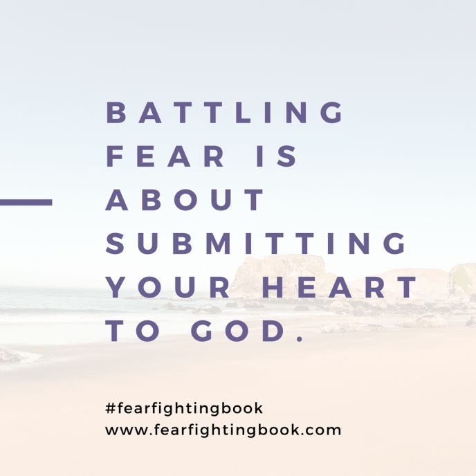 Fear Fighting: When You've Lost Sight of Yourself - Cord of 6