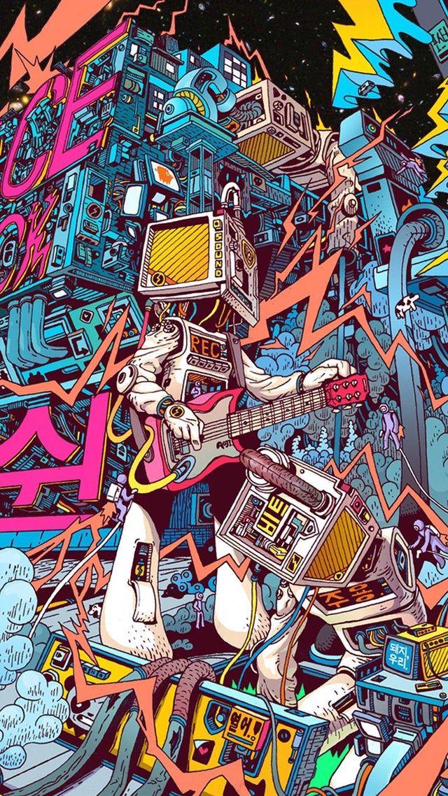 Thought My New Wallpaper Belongs Here Cyberpunk Art Wallpaper
