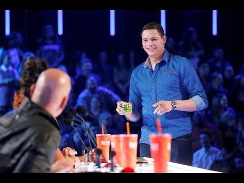 BEST Magic Show in the world 2016 - Genius Rubik's Cube Magician America's Got Talent 2016 - YouTube
