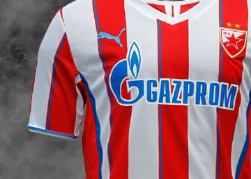 Red Star Belgrade 2013/14 PUMA Home, Away and Third Kits