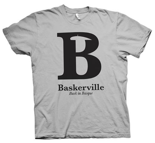 Baskerville - basque font