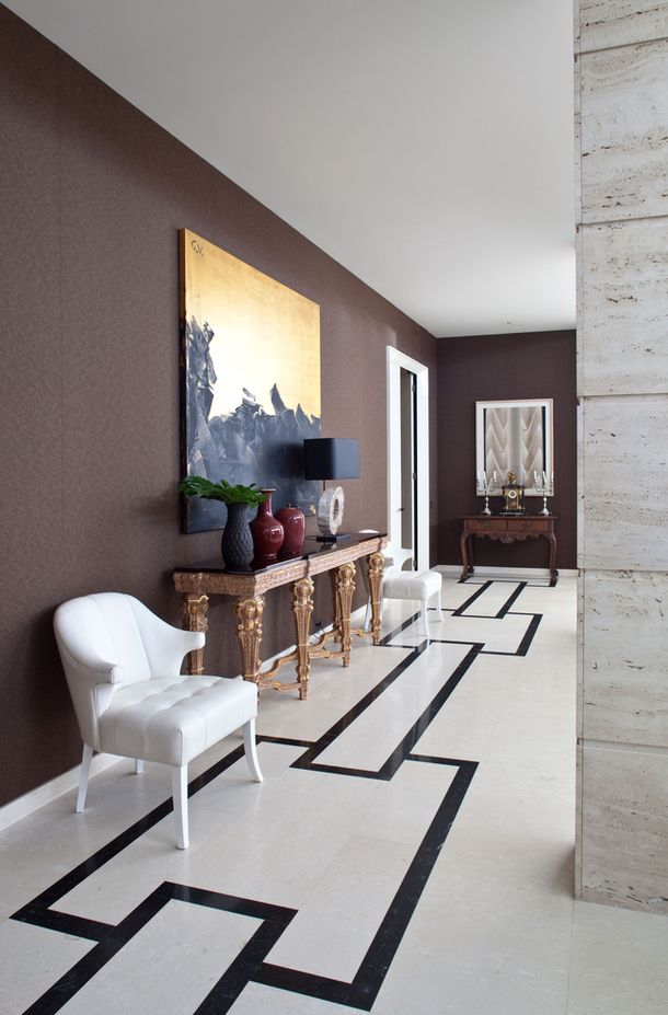 Marble Floors and Chocolate Walls. 1000  images about Flooring on Pinterest   Sacks  Stone mosaic and