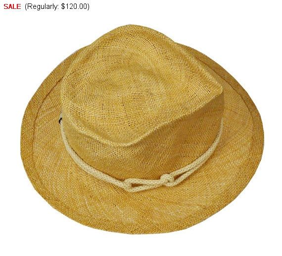 Hat on Sale Straw Panama Hat For Men, mens hats, straw hats, summer hat, sun hat