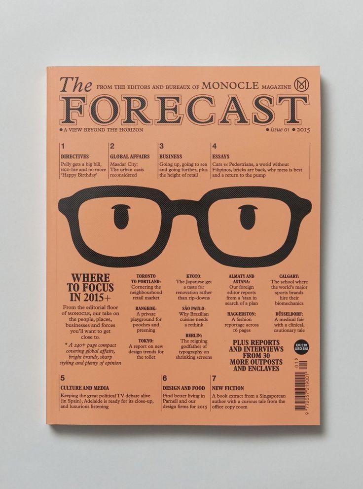 The Forecast | Arts & Culture Magazine Layout Design Inspiration | Award-winning Magazine & Newspaper Design | D&AD