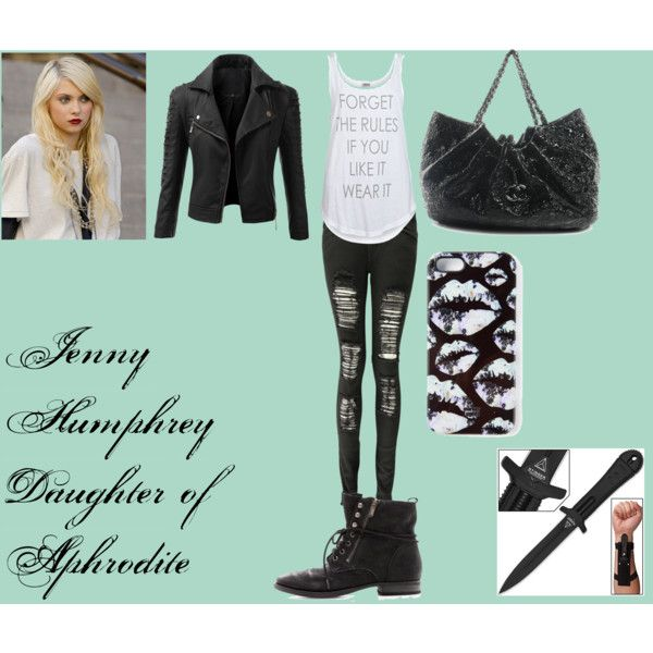 Jenny Humphrey  Daughter of Aphrodite, blessed by Nemesis Choice weapon- dagger