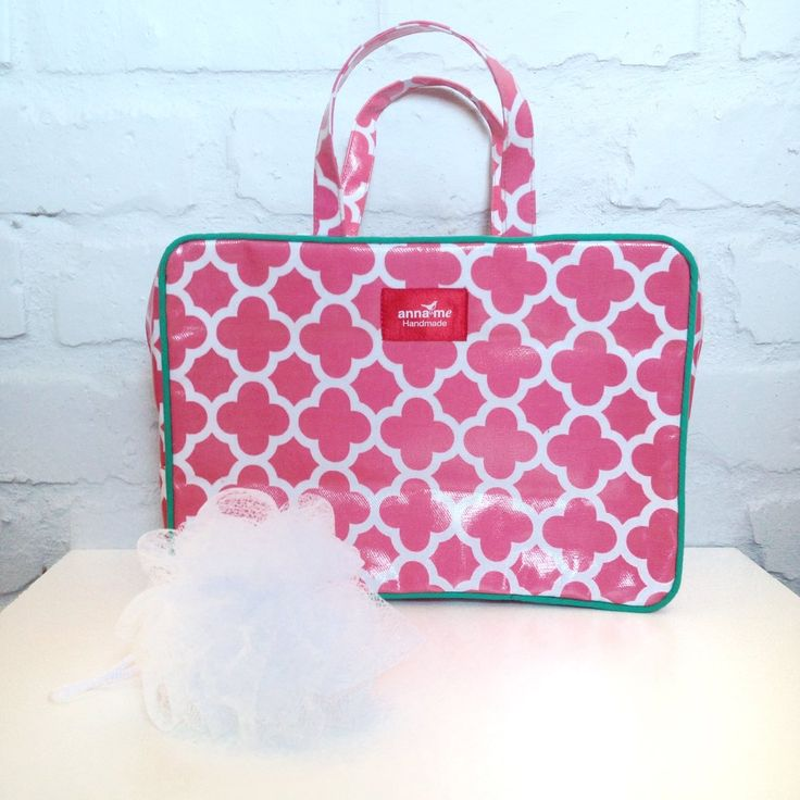 Toiletry Bag - The Official Anna Me Handmade Online Shop - Creative Accessories Made Beautifully. Browse our collection and buy directly from the site. Retailers welcome! #accessories #cosmetics #travel