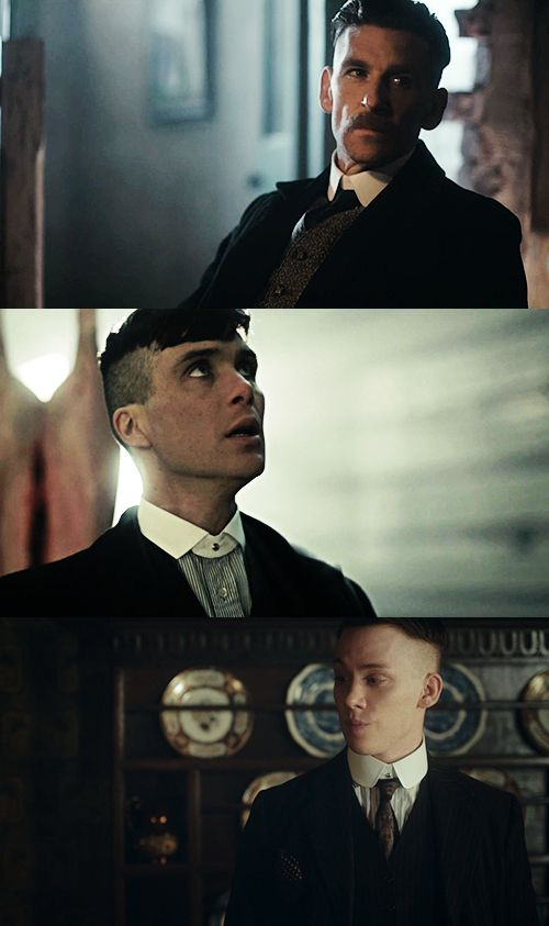 Peaky Blinders Shelby brothers