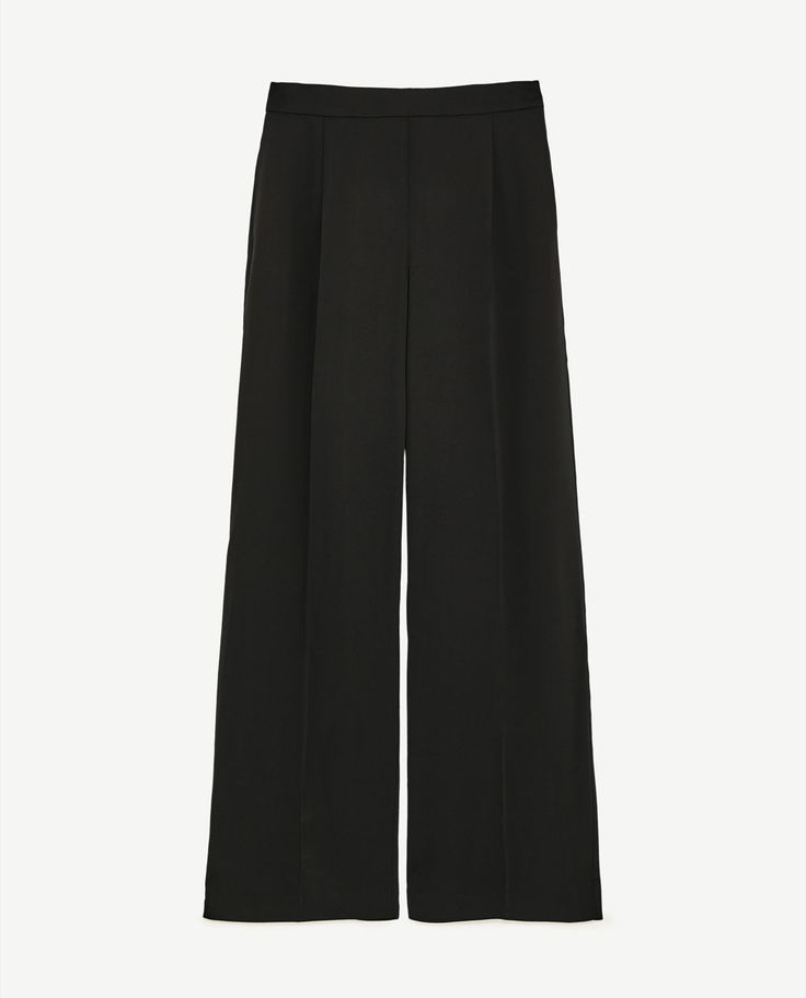 Image 8 of PRINTED PALAZZO TROUSERS from Zara