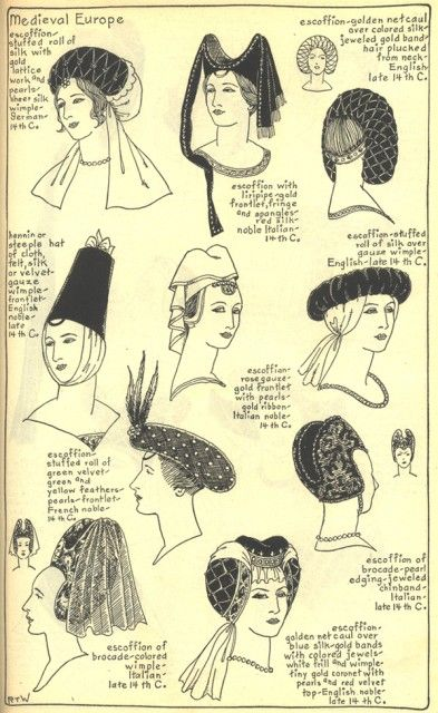 Village Hat Shop Gallery :: Chapter 7 - Medieval or Gothic Europe :: 59_G_001