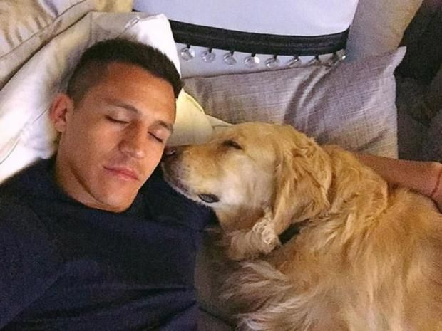 Alexis Sanchez posts bizarre Instagram tribute to his two dogs complete with Bryan Adams soundtrack.