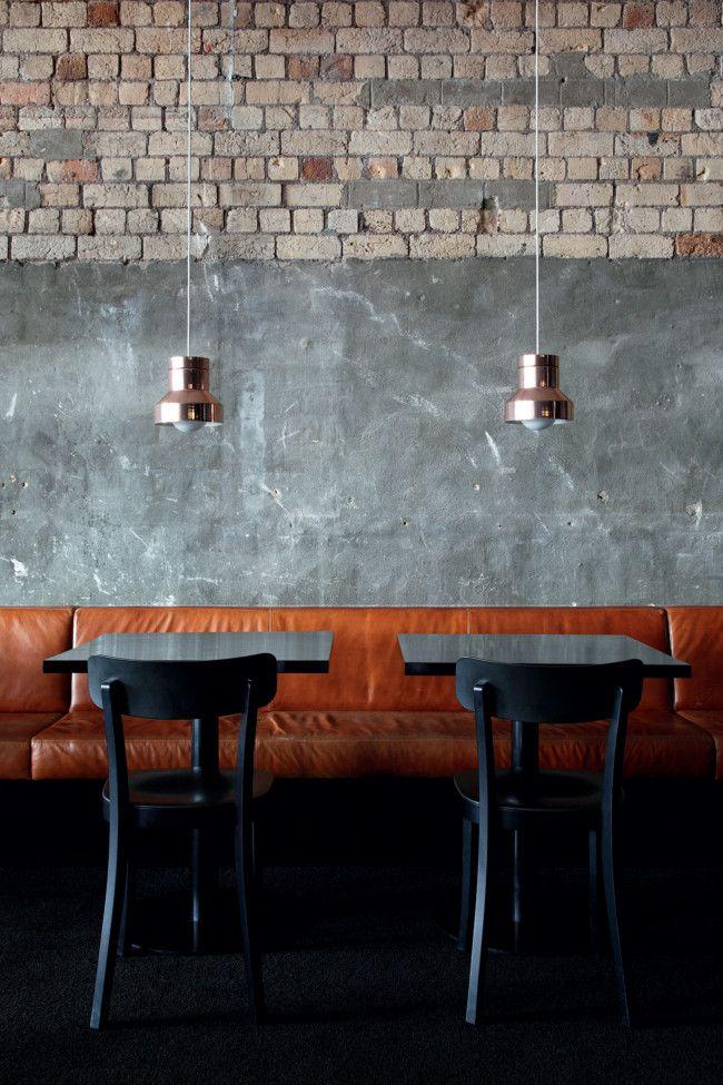 home house interior decorating design dwell furniture decor fashion antique vintage modern contemporary art loft real estate nyc architecture inspiration - Slate Cafe Decoration
