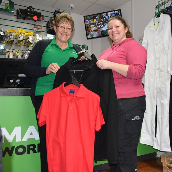 "Congratulations to our monthly competition winner for January, Coleen Clarke! She won herself some personalised polos and fleeces, and she had a few words to say: ""Fantastic! I always buy my work gear from Mammoth, and this has come at just the right time as I'm currently getting my own business, Alto Electrical up and running. Thank you very much!"" Keep your eyes peeled for our next competition coming soon!"