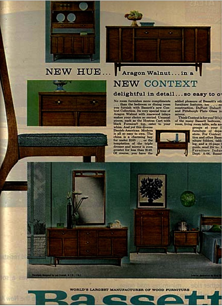 Vintage Furniture Ads Of The (Page