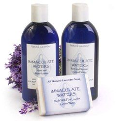 Monastery Greetings | Immaculate Waters Products (lavender) - Religious & Spiritual Gifts by Monks & Nuns in Abbeys, Convents, Hermitages & Monasteries