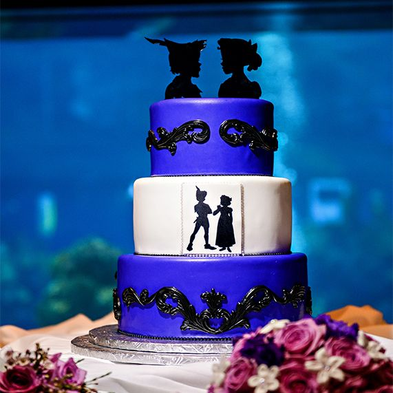 We're off to Neverland for this week's Peter Pan inspired Wedding Cake Wednesday