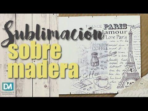 MONITOR | María Rita Pinotti | Sublimación sobre distintas superficies | Manos a la Obra - YouTube