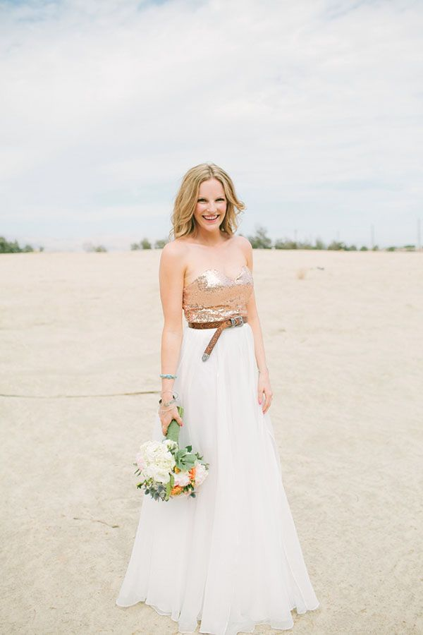 Wedding tips tricks how to pull off a non traditional for Non traditional wedding dresses