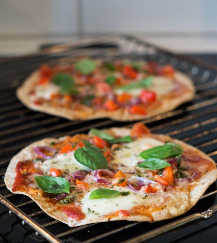 Tortilla pizza…