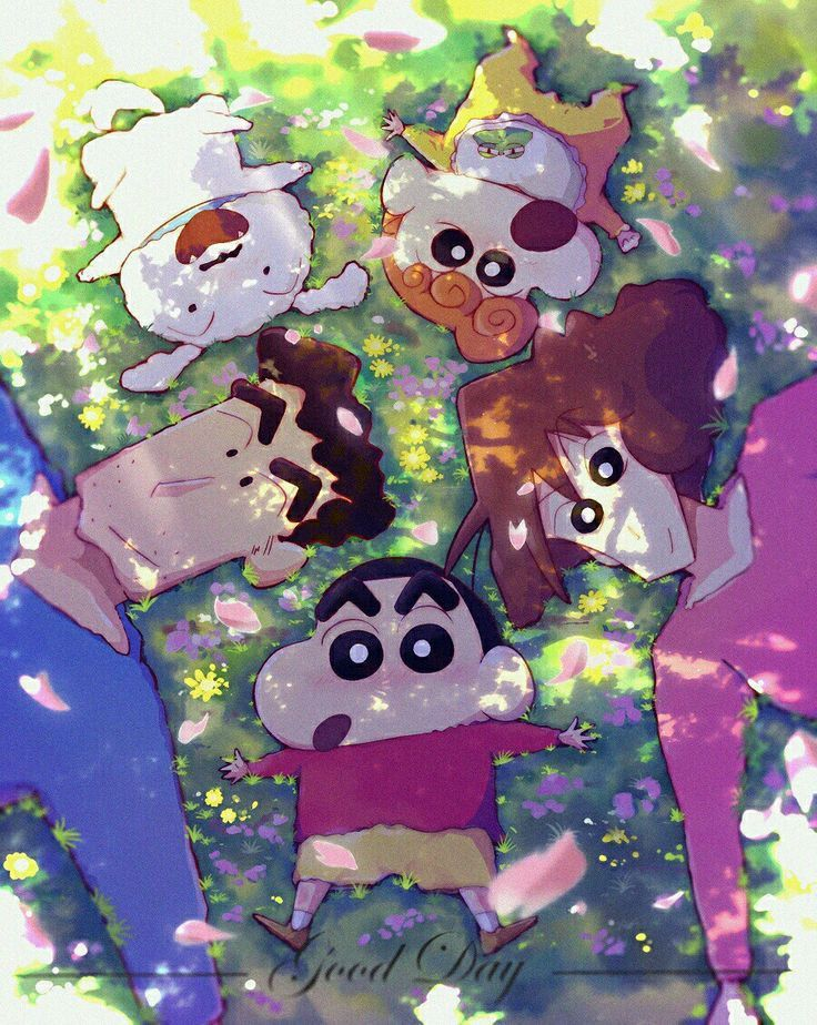 Pin by Park on 蠟筆小新 in 2020 Cute cartoon wallpapers