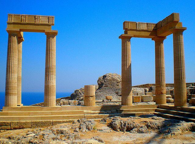 Ακρόπολη Λίνδου - Ρόδος /  Lindos Acropolis - Rhodes Greece by pantherinia_hd Anna A., via Flickr