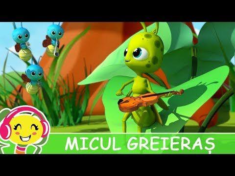Cantece Gradinita - Micul Greieras | Muzica Noua Romaneasca, Muzica Gratis, Versuri