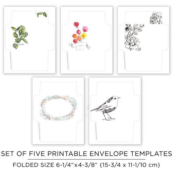 The 25+ best Envelope templates ideas on Pinterest Envelopes - 4x6 envelope template