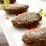 Shami Kebab appetizer kabob ,or main with rice