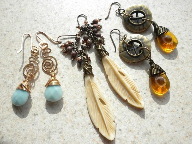 wire-wrapped briolettes: tutorial on how to make