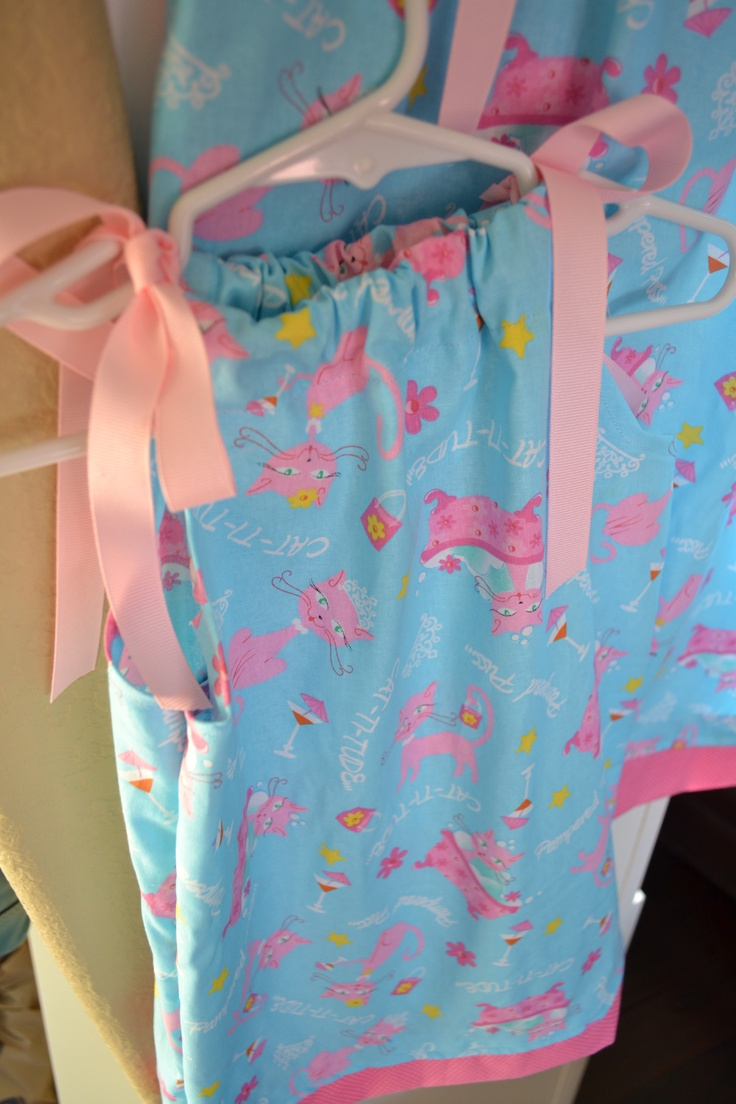 This is a cute, simple to make dress for little girls! I