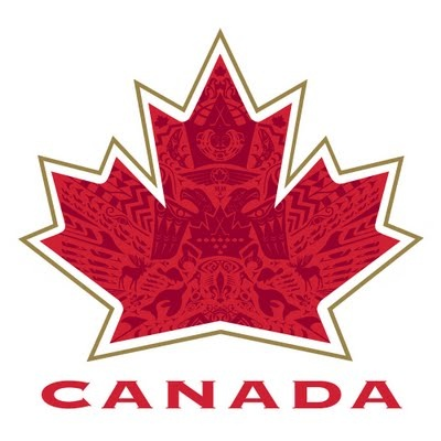 The logo Team Canada wore, and won double gold, at the 2010 Olympic Winter Games in Vancouver.