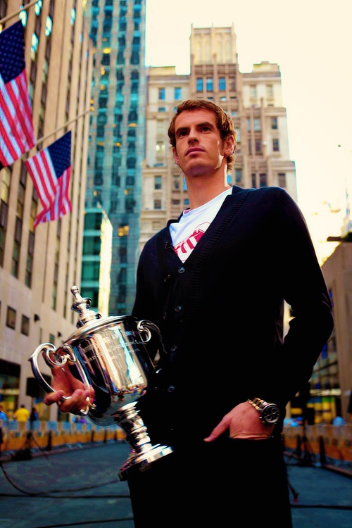 Andy Murray is a champion in New York.