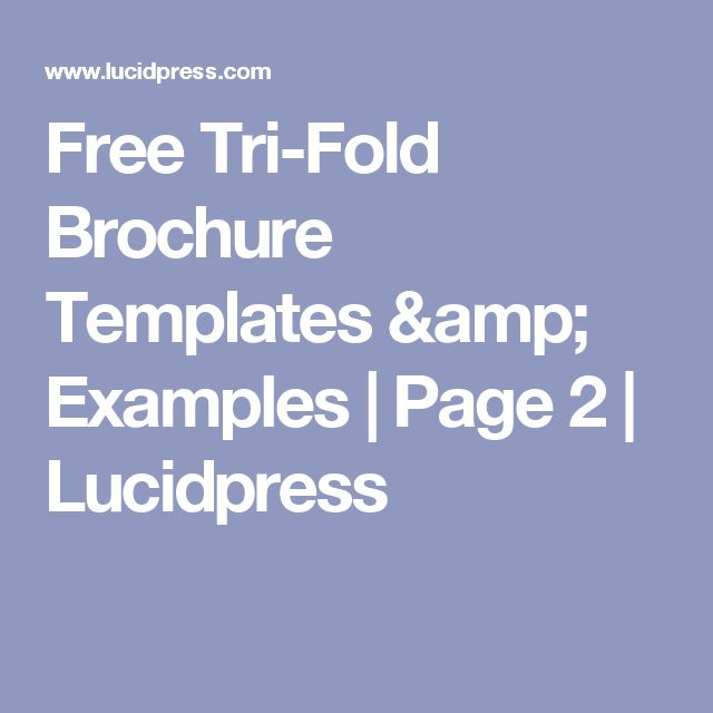 1000 ideas about Tri Fold Brochure Template – Free Printable Tri Fold Brochure Templates