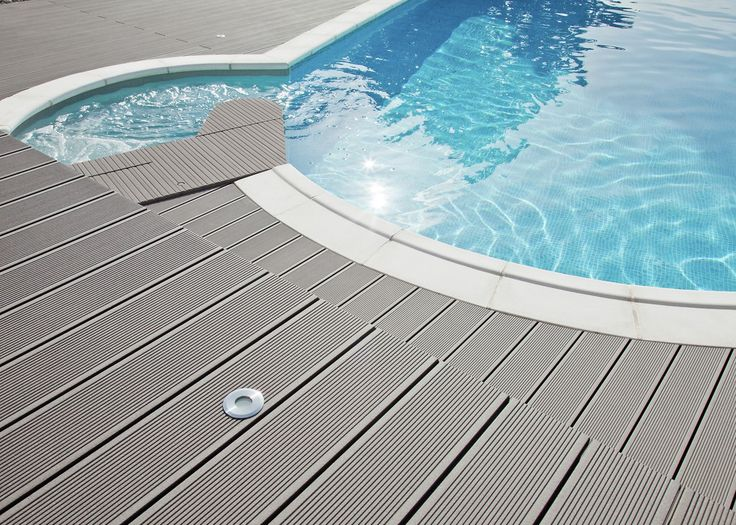 Die besten 25 wpc terrassendielen ideen auf pinterest - Suelos piscinas exteriores ...