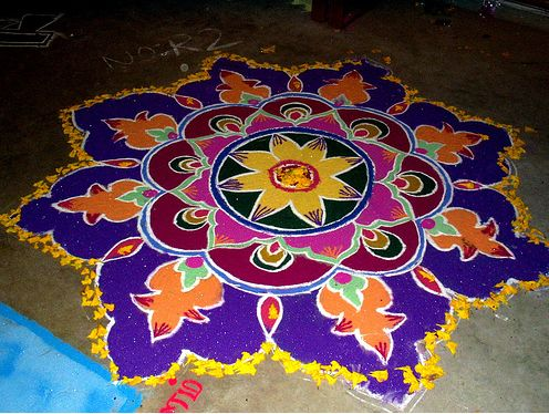 28 best images about vijay on pinterest traditional for Door design rangoli