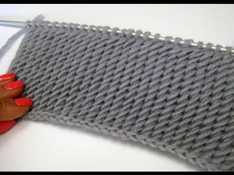 Patrón de vídeo Diagonal Knitting ¿Cómo? - Me Mimuu.co