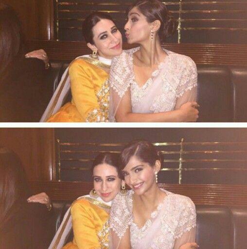 Sonam and Karisma Kapoor