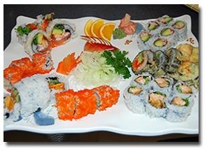 Sushi Cushi in Winnipeg...yummy and cheap!