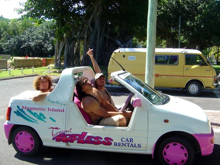 magnetic island car