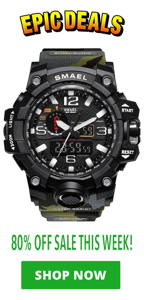 1baffaef40 Discounted Smael Special Ops Watch is currently 80% off | Epic Deals ...