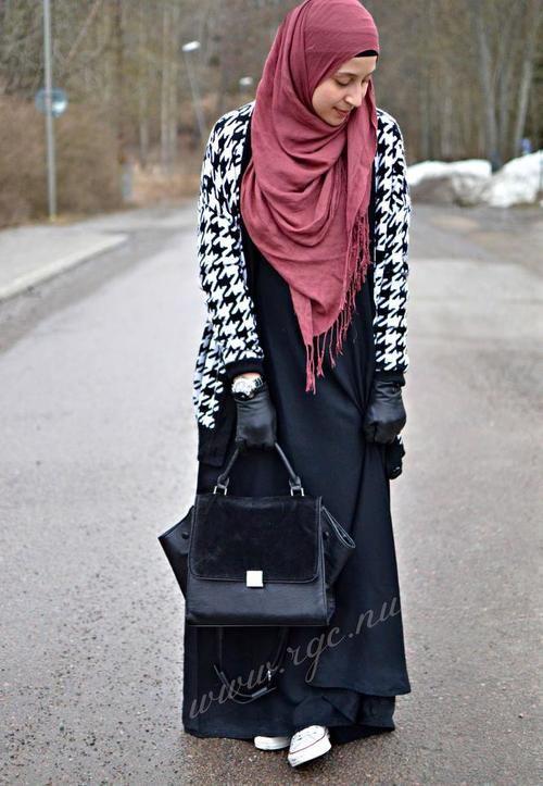 Street wear abaya